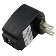 Insten® 2 Port USB Travel Charger Adapter For Amazon Kindle Fire, Black