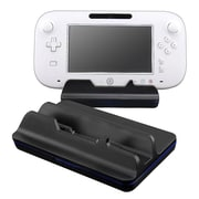 Insten® VNINWIIUCRA2 Cradle Charging Station For Nintendo Wii U, Black