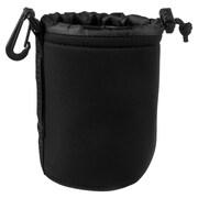 Insten® Neoprene Camera Lens Bag, Black, Medium