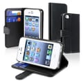 Insten® Leather Wallet Case For Apple iPhone 4 AT&T/Verizon, Black
