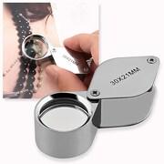 Insten® 30x Magnifier Glass For Jewel/Watch Repair, 21 mm