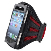Insten® Deluxe Sportband For Apple iPod Touch 2nd/3rd Gen, Black/Red
