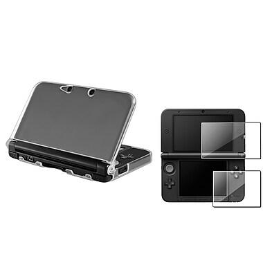 Insten® 1629690 2 Piece Game Case Bundle For Nintendo 3DS XL/LL