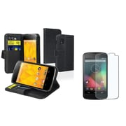 Insten® 1106668 2 Piece Cellphone Case Bundle For Nexus 4 E960
