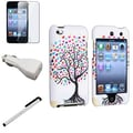 Insten® 799137 4 Piece Universal Case Bundle For Apple iPod Touch 4th Gen