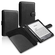 Insten® Leather Case For Amazon Kindle 4/5, Black