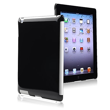 Insten® Snap-in Case For Apple iPad 3/4, Black