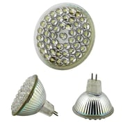 Insten® HMR16LEDW482 MR16 2.4 W 48 Color LED Light Bulb, White