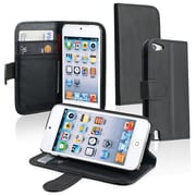 Insten Synthetic Leather Case for Apple iPod Touch 5th Gen, Black