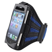 Insten® Deluxe Sportband For Apple iPod Touch 2nd/3rd Gen, Black/Dark Blue