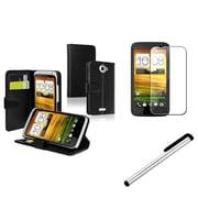 Insten® 741274 3 Piece Cellphone Case Bundle For HTC One X