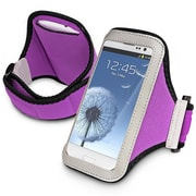 Insten® Sportband For iPhone/BlackBerry/Motorola, Purple