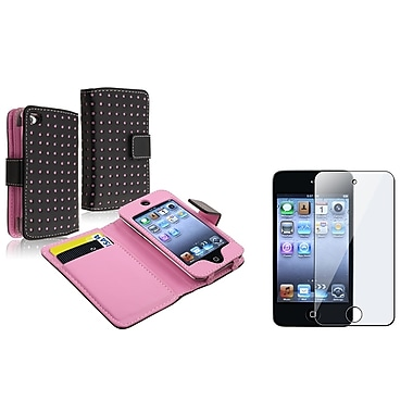 Insten® 592384 2 Piece Case Bundle For Apple iPod Touch 4th Gen