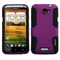 ASMYNA Rubberized Protector Case For HTC One X/One X+, Purple/Black Astronoot
