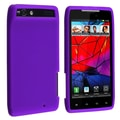 Insten® Silicone Skin Case For Motorola Droid Razr XT910, Purple