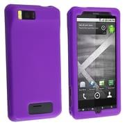 Insten® Silicone Skin Case For Motorola Droid Xtreme/Droid X, Dark Purple