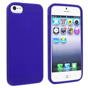 Insten® Silicone Case For Apple iPhone 5/5S, Blue