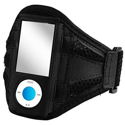 Insten DAPPNANOAB26 Airmesh Armband for Apple iPod Nano 5th Gen, Black
