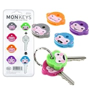 Fred® & Friends Monkey Keycaps, 6/Set