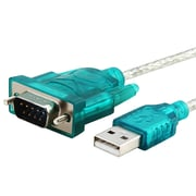 Insten 3' USB 2.0 Male to Male Converter Cable, Blue/Silver