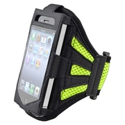 Insten® Deluxe Sportband For Apple iPod Touch 2nd/3rd Gen, Black/Green