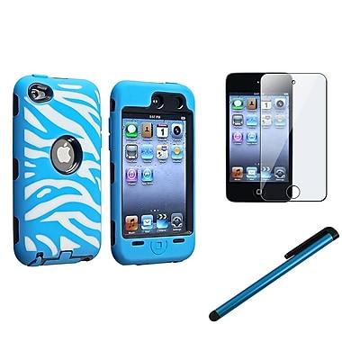 Insten® 1168994 3 Piece Case Bundle For Apple iPod Touch 4th Gen