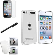 Insten® 811108 4 Piece Case Bundle For Apple iPod Touch 5th Gen