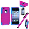 Insten® 1121662 3 Piece Case Bundle For Apple iPhone 4/4S