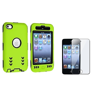 Insten® 659270 2 Piece Case Bundle For Apple iPod Touch 4th Gen