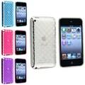 Insten® 490116 4 Piece Case Bundle For Apple iPod Touch 4th Gen