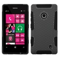 ASYMNA Phone Protector Case For Nokia Lumia 521, Gray/Black Astronoot