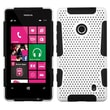 ASMYNA Phone Protector Case For Nokia Lumia 521, White/Black Astronoot