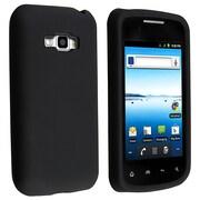 Insten® Silicone Case For LG Optimus Elite LS696, Black