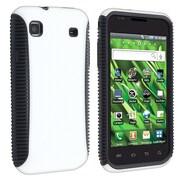 Insten® TPU Rubber Hybrid Case For Samsung Vibrant SGH-T959, Black/White