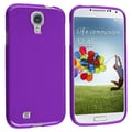 Insten® TPU Rubber Skin Case For Samsung Galaxy SIV/S4 i9500, Purple Jelly