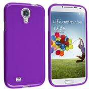 Insten® TPU Rubber Skin Case For Samsung Galaxy SIV/S4 i9500, Purple Jelly
