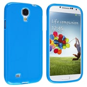 Insten® TPU Rubber Skin Case For Samsung Galaxy SIV/S4 i9500, Blue Jelly
