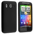 Insten® Silicone Skin Case For HTC Inspire 4G/Desire, Black