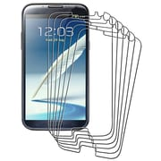 Insten® Anti Glare Screen Protector For Samsung Galaxy Note II N7100, Clear, 6/Pack