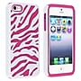 Insten® Silicone Hybrid Case For Apple iPhone 5,