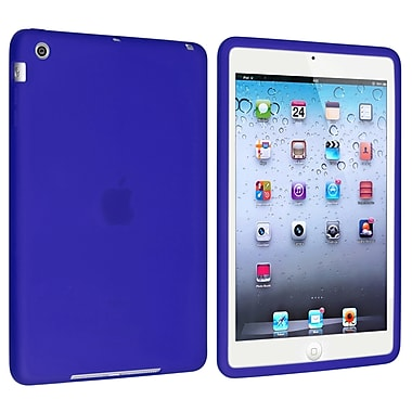 Insten® Silicone Case For Apple iPad Mini 1/2, Dark Blue