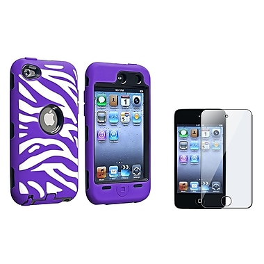 Insten® 1168997 2 Piece Case Bundle For Apple iPod Touch 4th Gen