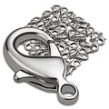 Insten® 50 Pieces Lobster Clasps, Silver