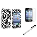 Insten® 543387 3 Piece Case Bundle For Apple iPhone 3G/3GS