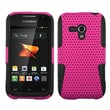 Insten® Plastic Phone Protector Case For Samsung Galaxy Rush M830, Hot Pink/Black Astronoot