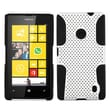 Insten® Phone Protector Case For Nokia Lumia 520, White/Black Astronoot