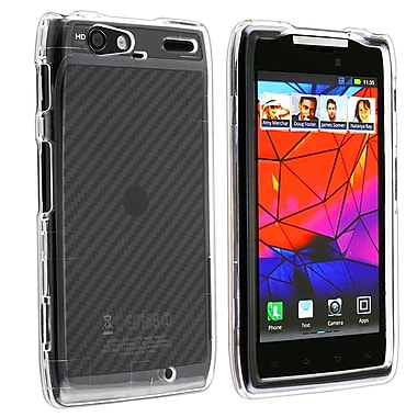 Insten® Snap-in Crystal Plastic Case For Motorola Droid Razr Maxx XT916, Clear