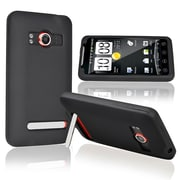 Insten® Silicone Skin Case For HTC EVO 4G, Black