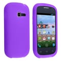 Insten® Silicone Skin Case For Samsung Galaxy Centura S738C, Purple