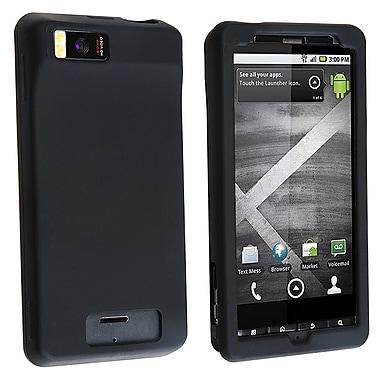 Insten® Silicone Skin Case For Motorola Droid Xtreme/Droid X, Black